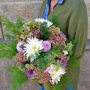 wild flowers arrangement