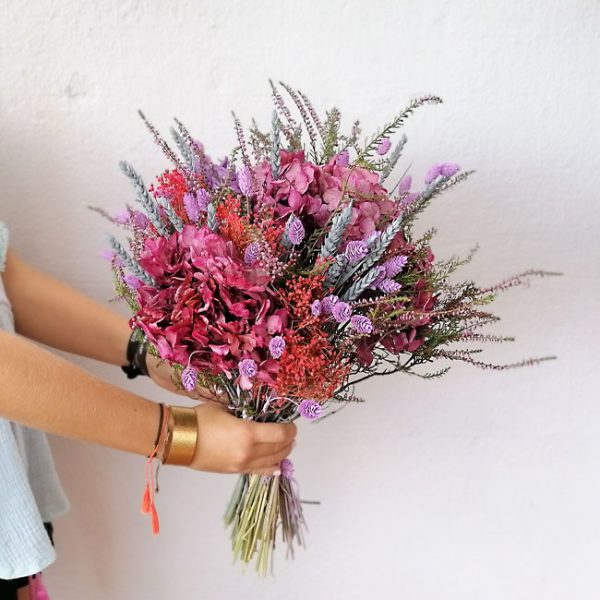 pink-dry-bouquet