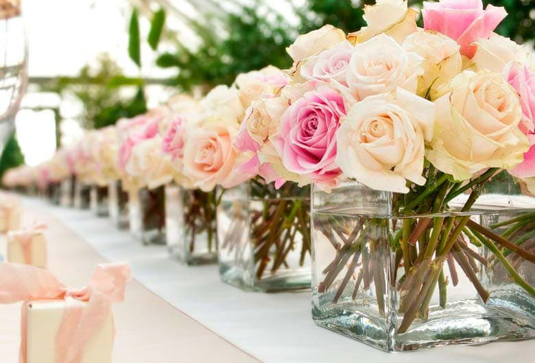 Flowers for special events -