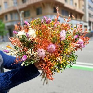 cheap-dry-bouquet-barcelona-delivery