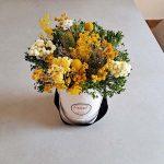 yellow-dried-flowers-arrangement