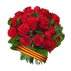 red roses sant jordi